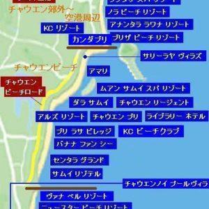サムイ島の高級ホテルの全リストとホテル地図 2018