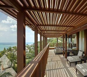 サムイ島の最高級ホテル リッツカールトン コサムイの客室