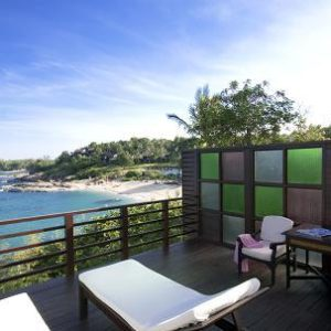 サムイ島 トンサイベイ ホテルのシーフロント コテージ
