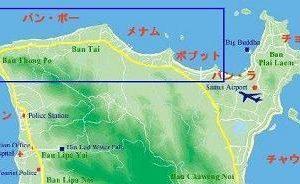 サムイ島フィッシャーマンズビレッジの散歩地図(目次)
