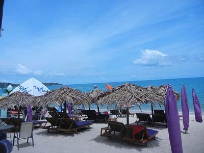 サムイ島ラマイビーチの最新地図 2018年6月