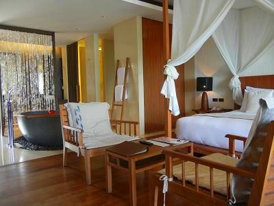サムイ島のホテルの客室
