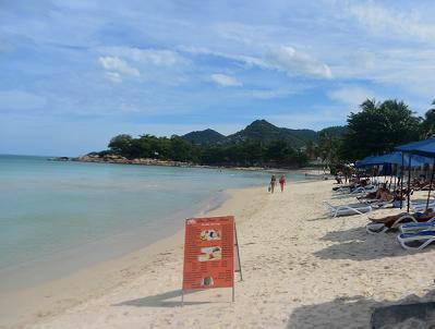 サムイ島、夏休みのチャウエンビーチのホテル情報