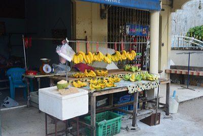 ラマイビーチの市場通りの最新地図