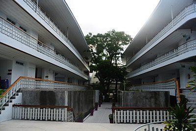 ホワイト サンド サムイ リゾートの外観