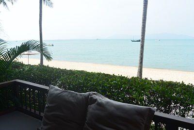 ハンサー サムイ リゾートのビーチフロント訪問記
